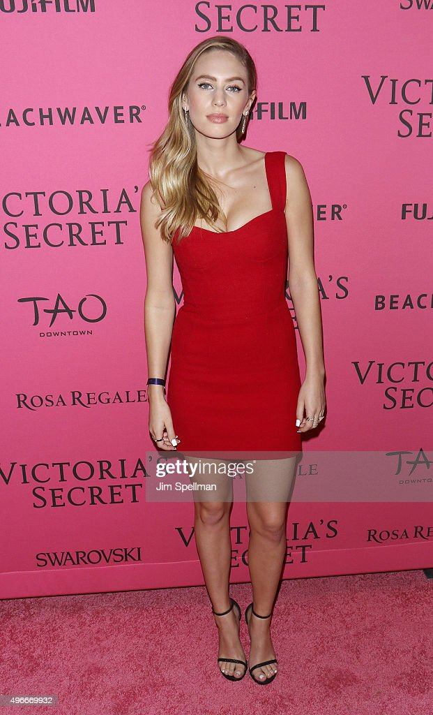 Model/actress Dylan Frances Penn attends the 2015 Victoria's Secret Fashion Show after party at TAO Downtown on November 10, 2015 in New York City.