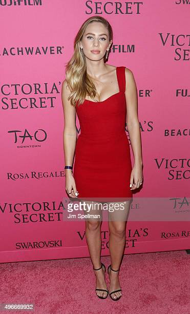 Model/actress Dylan Frances Penn attends the 2015 Victoria's Secret Fashion Show after party at TAO Downtown on November 10 2015 in New York City