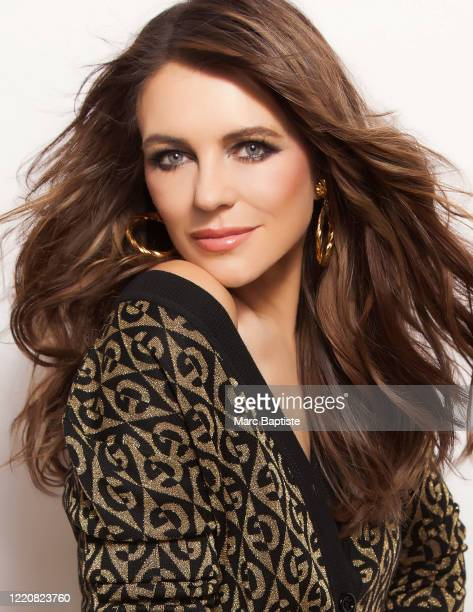 Model/actress Elizabeth Hurley is photographed for Genlux Magazine on December 16, 2019 in New York City. COVER IMAGE.