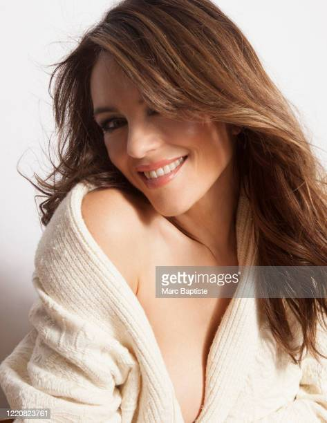 Model/actress Elizabeth Hurley is photographed for Genlux Magazine on December 16, 2019 in New York City.
