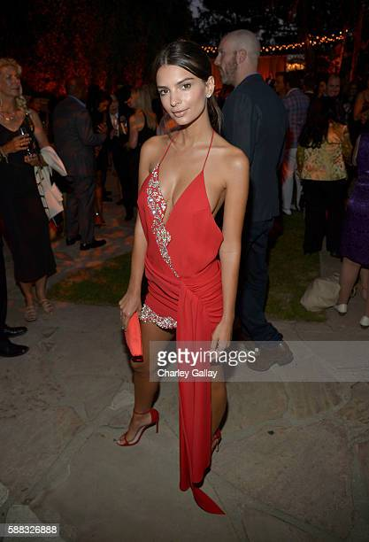 Model/Actress Emily Ratajkowski attends the special event for UN SecretaryGeneral Ban Kimoon hosted by Brett Ratner and David Raymond at Hilhaven...