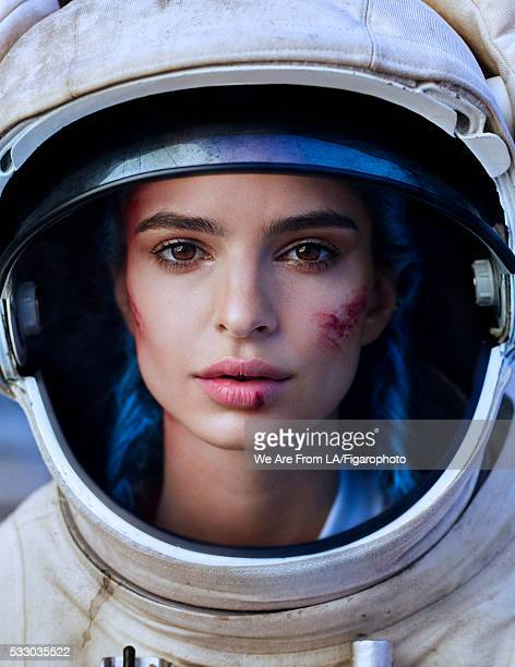 Model/actress Emily Ratajkowski is photographed for Madame Figaro on November 21 2015 in Los Angeles California Polo COVER IMAGE CREDIT MUST READ We...