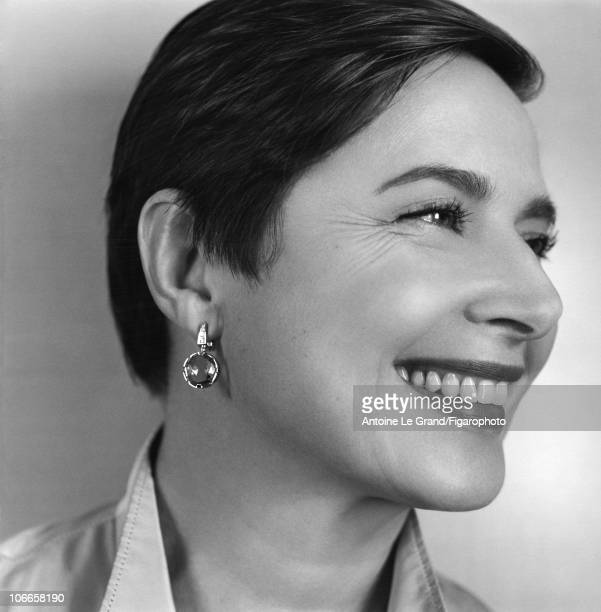 Model/Actress Isabella Rossellini photographed for Madame Figaro in 2010 Published image Figaro ID002 CREDIT MUST READ Antoine Le...