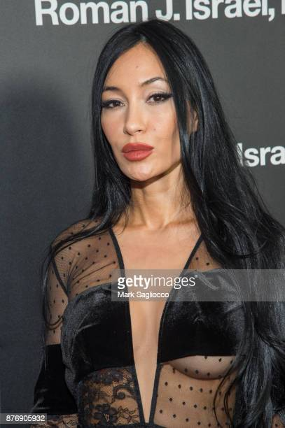Model/Actress Kae Ho attends the 'Roman J Israel Esquire' New York Premiere at Henry R Luce Auditorium at Brookfield Place on November 20 2017 in New...