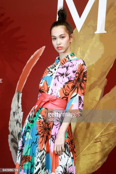 Model/actress Kiko Mizuhara attends the MOISELLE show during the Shanghai Fashion Week 2018 Autumn/Winter on March 30 2018 in Shanghai China