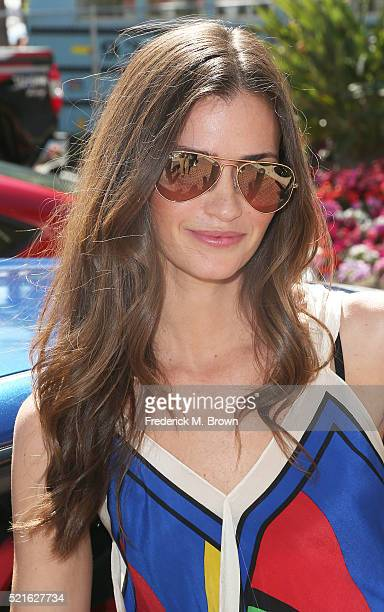 Model/Actress Lauren Michelle Hill attends the 42nd Toyota Grand Prix of Long Beach on April 16 2016 in Long Beach California