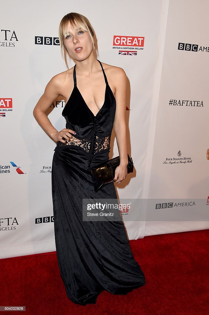 Model/actress Lena Gora attends the BAFTA Los Angeles Awards Season Tea at Four Seasons Hotel Los Angeles at Beverly Hills on January 9, 2016 in Los Angeles, California.