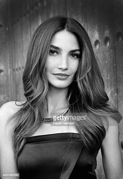 Model/actress Lily Aldridge arrives at Spike TV's Guys Choice 2014 at Sony Pictures Studios on June 7 2014 in Culver City California