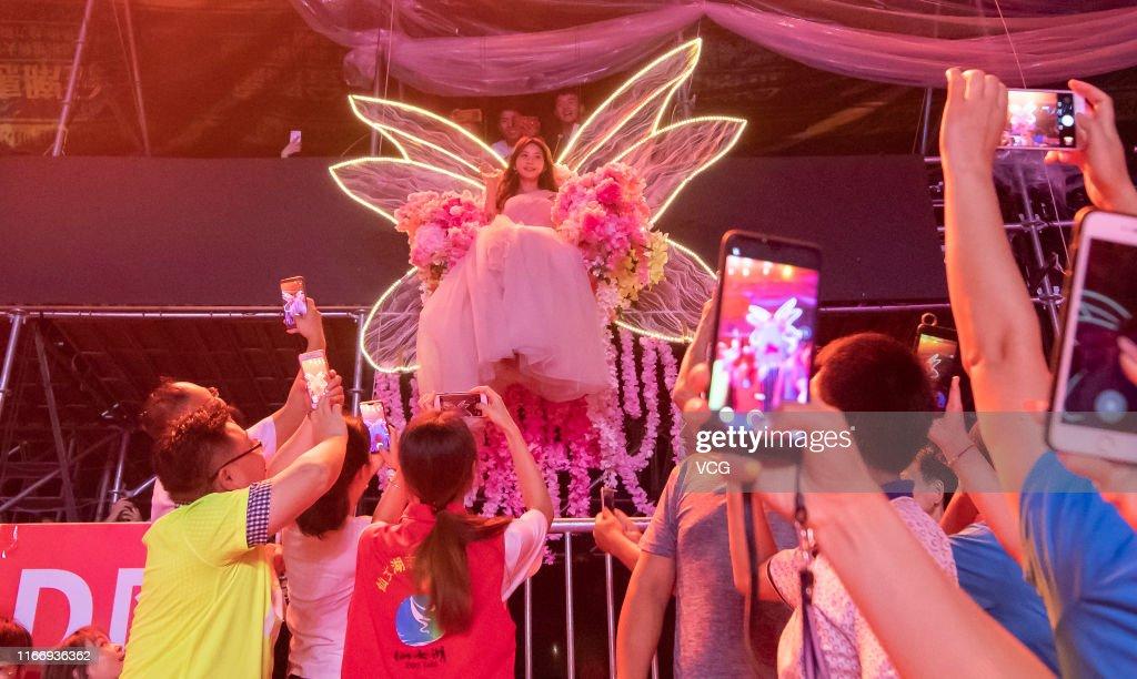 Lin Chi-ling Attends CCTV Qixi Festival Gala Taping In Jiangxi : News Photo