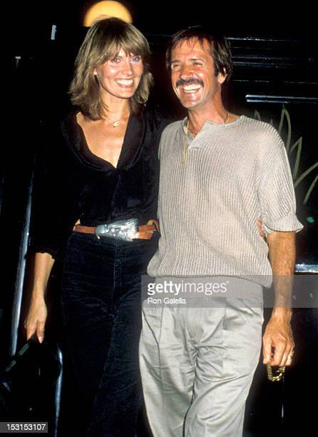 Model/Actress Maud Adams and Musician Sonny Bono attend the Jacqueline Bisset's 35th Birthday Party on September 13 1979 at Flippers Roller Boogie...