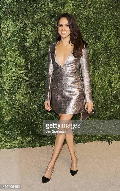 Model/actress Meghan Markle attends the 12th annual CFDA/Vogue Fashion Fund Awards at Spring Studios on November 2 2015 in New York City