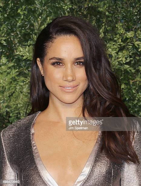 Model/actress Meghan Markle attends the 12th annual CFDA/Vogue Fashion Fund Awards at Spring Studios on November 2, 2015 in New York City.