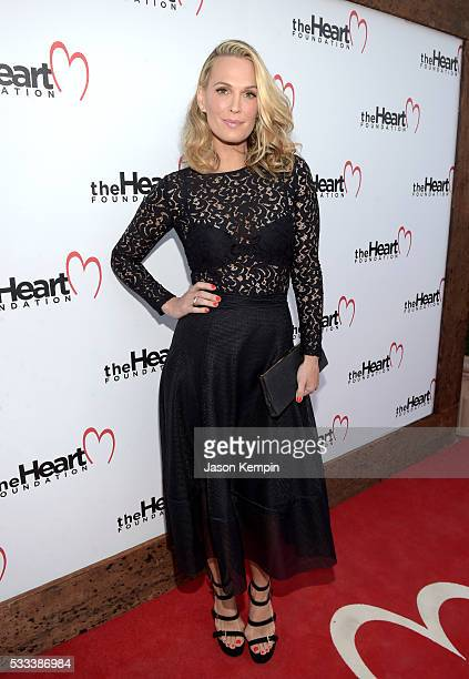 Model/actress Molly Sims attends The Heart Foundation 20th Anniversary Event honoring Discovery Land Company's Mike Meldman at the Green Acres Estate...