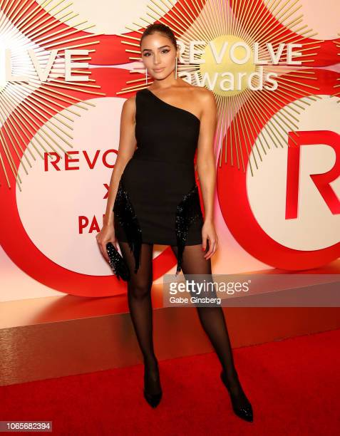 Model/actress Olivia Culpo attends Revolve's second annual #REVOLVEawards at Palms Casino Resort on November 9 2018 in Las Vegas Nevada