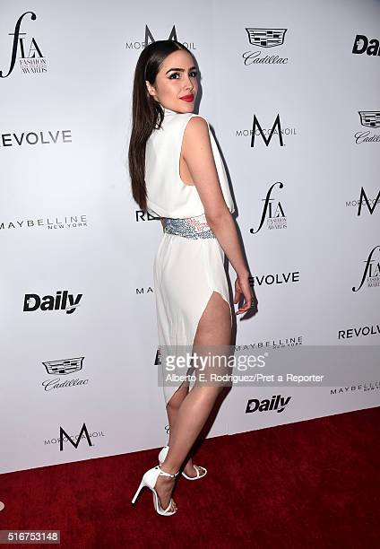 """Model/actress Olivia Culpo attends the Daily Front Row """"Fashion Los Angeles Awards"""" at Sunset Tower Hotel on March 20, 2016 in West Hollywood,..."""