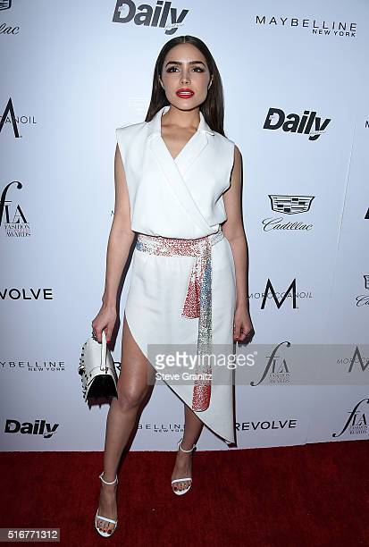 Model/actress Olivia Culpo attends the Daily Front Row 'Fashion Los Angeles Awards' at Sunset Tower Hotel on March 20 2016 in West Hollywood...