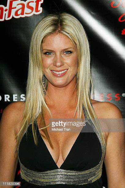 Model/actress Rachel Hunter arrives at the 'Style Your Slim' Party hosted by Rachel Hunter held at Boulevard 3 on January 8 2008 in Hollywood...