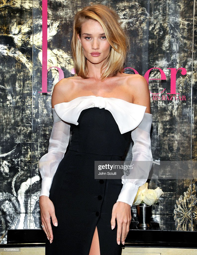 harper by Harper's BAZAAR At Violet Grey With Rosie Huntington-Whiteley