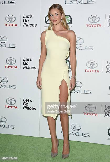 Model/actress Rosie HuntingtonWhiteley attends the 25th annual EMA Awards presented by Toyota and Lexus and hosted by the Environmental Media...