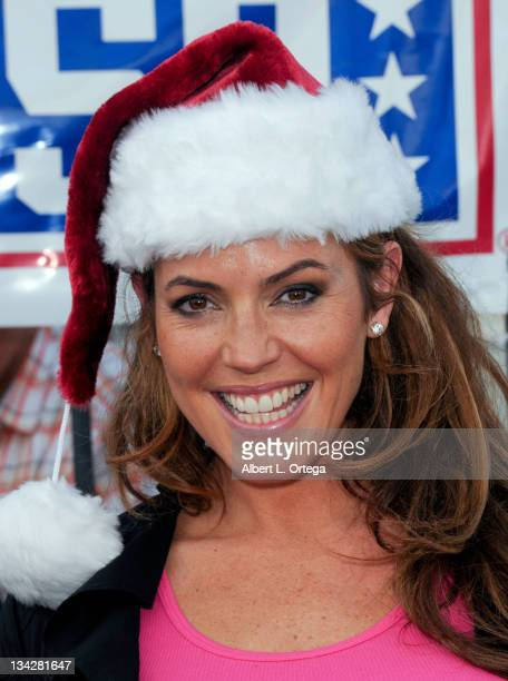 Model/actress Sandra Taylor participates in the Bob Hope Hollywood USO At LAX's 6th Annual Dinner For The Troops held at LAX USO on November 29 2011...