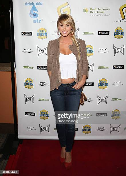 Model/actress Sara Jean Underwood arrives at One Step Closer Foundation's seventh annual AllIn For Cerebral Palsy Celebrity Poker Tournament at...