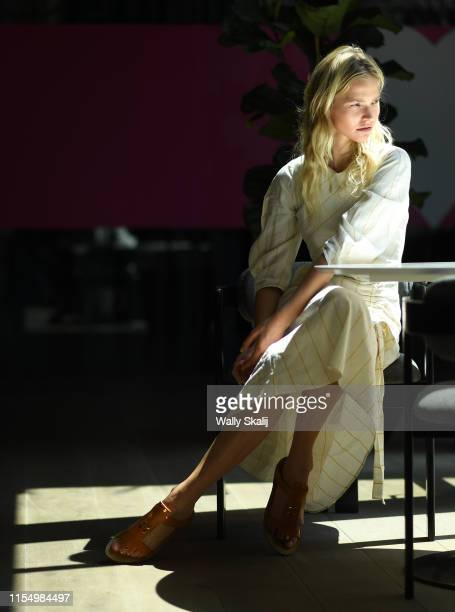 Model/actress Sasha Luss is photographed for Los Angeles Times on June 7 2019 in Los Angeles California PUBLISHED IMAGE CREDIT MUST READ Wally...