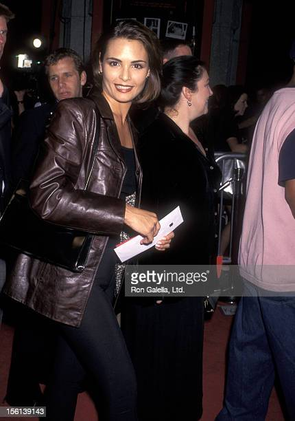 Model/Actress Talisa Soto attends the 'Boogie Nights' Hollywood Premiere on October 15 1997 at Mann's Chinese Theatre in Hollywood California