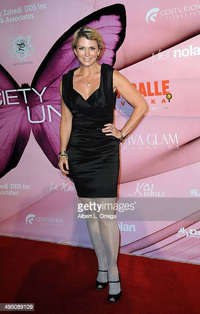 Model/actress Tamie Sheffield arrives for Society Unici And Viva Glam Magazine Present 'Rose' held at Society Unici on May 31 2014 in Culver City...