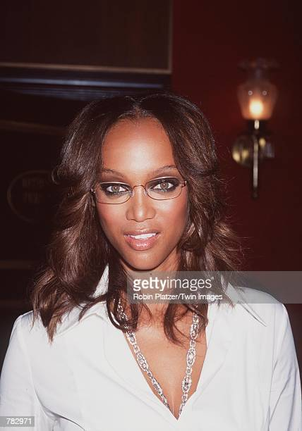 Model/Actress Tyra Banks attends the premiere of her new movie Coyote Ugly July 31 2000 at the Ziegfeld Theatre in New York City