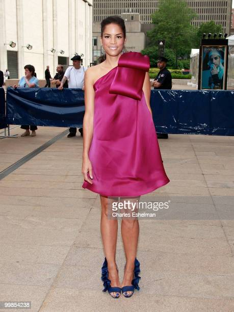 Model/actress Veronica Webb attends the 2010 American Ballet Theatre Annual Spring Gala at The Metropolitan Opera House on May 17 2010 in New York...