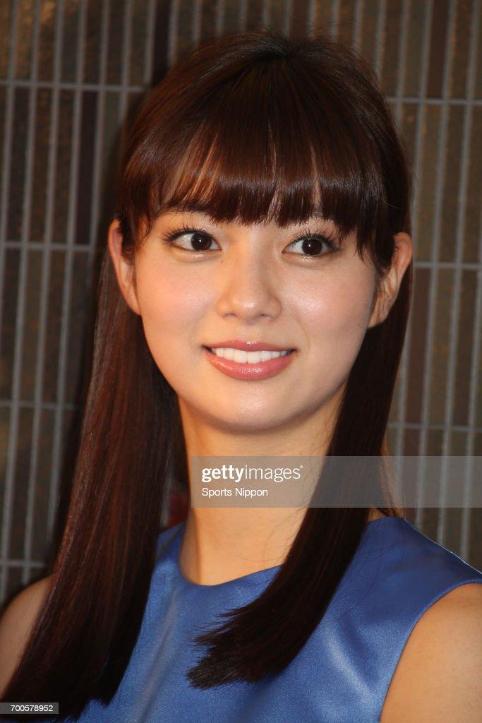 Yua Shinkawa Attends Press Conference In Tokyo : News Photo