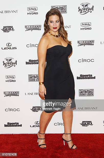 ModelAshley Graham attends the Sports Illustrated Celebrates Swimsuit 2016 at Brookfield Place on February 16 2016 in New York City