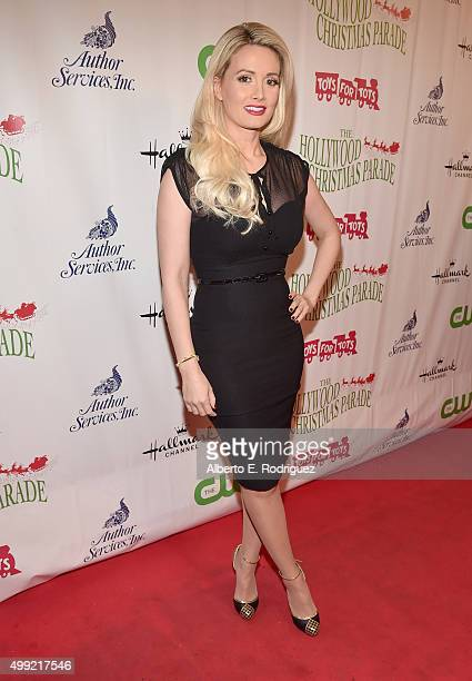 Model/author Holly Madison attends 2015 Hollywood Christmas Parade on November 29 2015 in Hollywood California