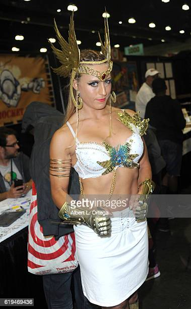 Model/cosplayer Angelique Kenney on day 2 of Stan Lee's Los Angeles Comic Con 2016 held at Los Angeles Convention Center on October 29 2016 in Los...
