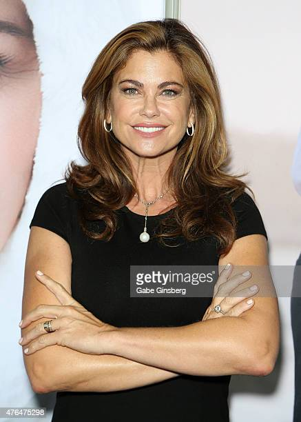 Model/designer Kathy Ireland attends the Licensing Expo 2015 at the Mandalay Bay Convention Center on June 9 2015 in Las Vegas Nevada
