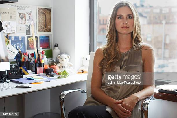 Model/designer Lauren Bush poses for Madame Figaro on April 24 2012 in New York City Figaro ID 104139011 CREDIT MUST READ John...