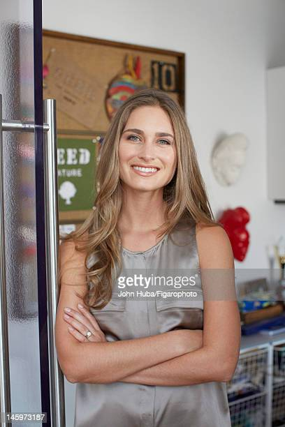 Model/designer Lauren Bush poses for Madame Figaro on April 24 2012 in New York City Figaro ID 104139012 CREDIT MUST READ John...