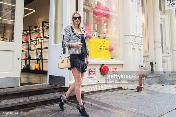 Model/Designer Nicky Hilton attends MCM Worldwide Soho on March 9 2016 in New York City