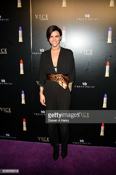 Model/DJ Ruby Rose attends Urban Decay Vice After Dark at Greenpoint Terminal on May 4 2016 in New York City