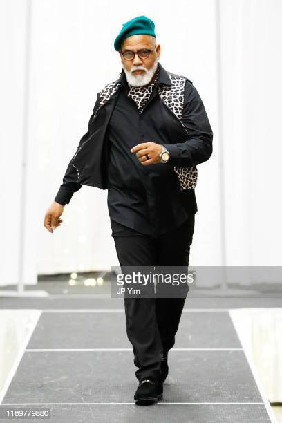 A modell walks the runway at the FTM Fashion Week S7 at Sturgeon City on November 23 2019 in Jacksonville North Carolina