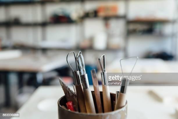 Modelling tool-ceramics tool