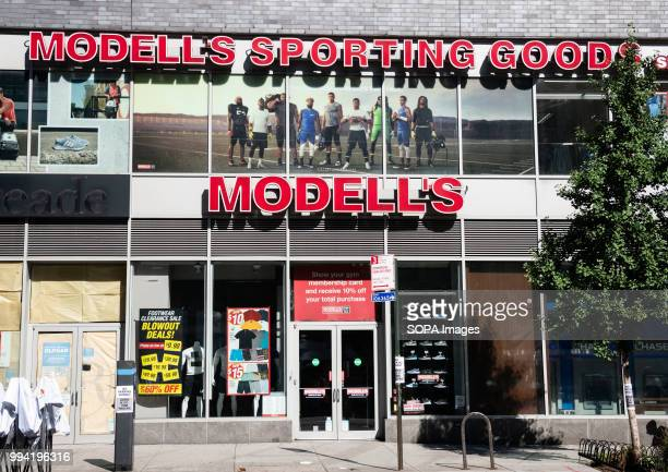 Modell's Sporting Goods store in New York City