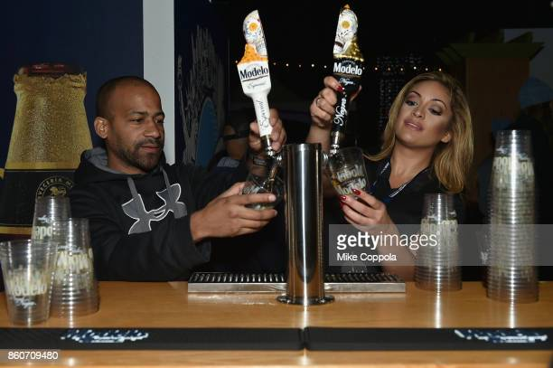 Modelo Beer is served at The Food Network & Cooking Channel New York City Wine & Food Festival Presented By Coca-Cola - Smorgasburg presented by...