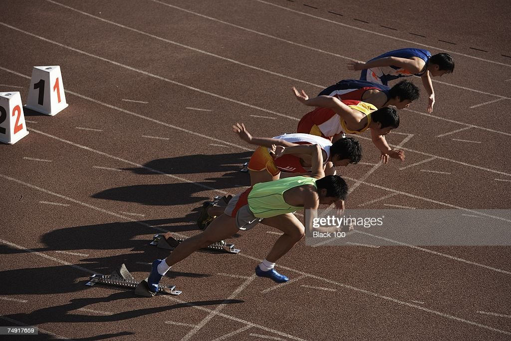 Model/Property Released Track and Field : News Photo