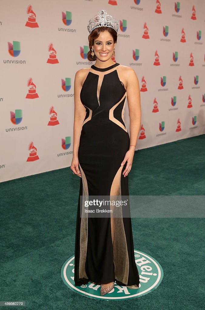 Model/recording artist Aleyda Ortiz attends the 15th annual Latin GRAMMY Awards at the MGM Grand Garden Arena on November 20, 2014 in Las Vegas, Nevada.