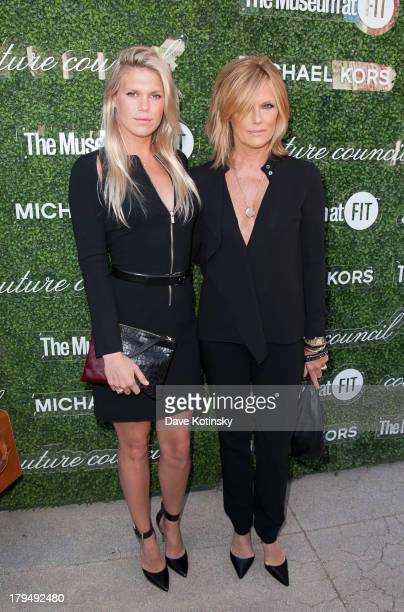 Models Alexandra Richards and Patti Hansen attend 2013 Couture Council Fashion Visionary Awards at David H Koch Theater Lincoln Center on September 4...