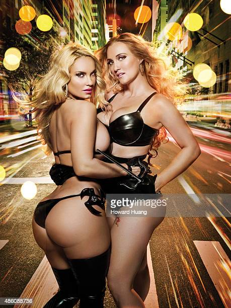 Models and sisters Coco Austin and Kristy Williams are photographed for Self Assignment on November 9 in New York City