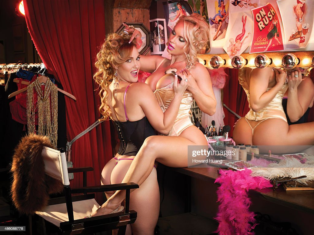 Coco Austin and Kristy Williams, Self Assignment, November 2010