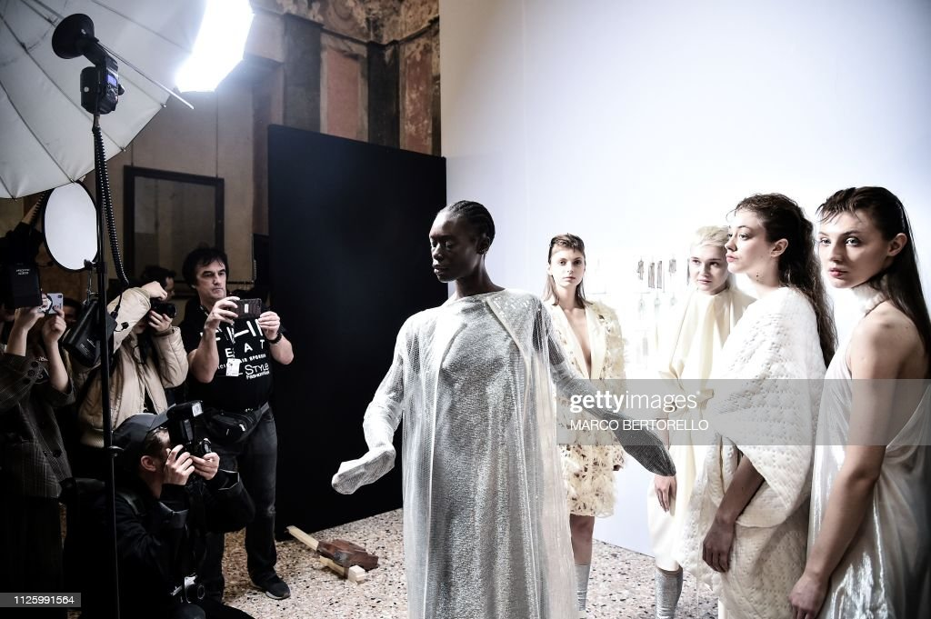 ITA: Alberto Zambelli - Backstage: Milan Fashion Week Autumn/Winter 2019/20
