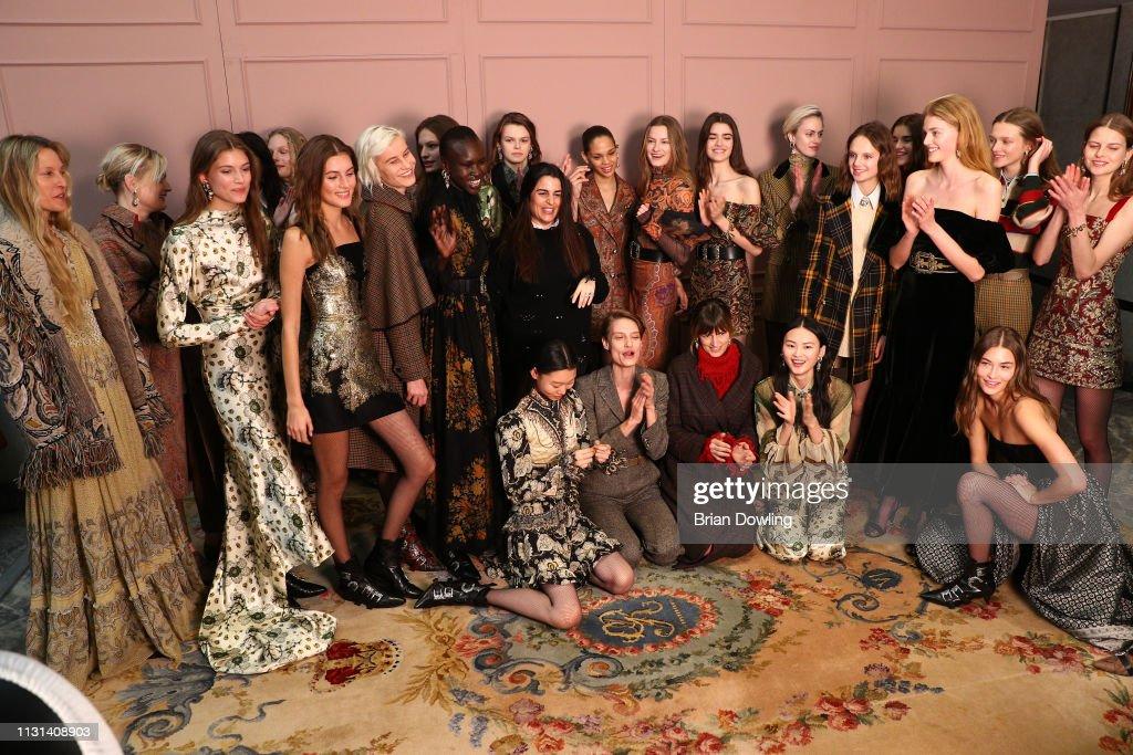 Etro - Backstage: Milan Fashion Week Autumn/Winter 2019/20 : ニュース写真